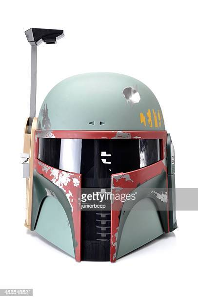 star wars boba fett helmet - star wars stock pictures, royalty-free photos & images