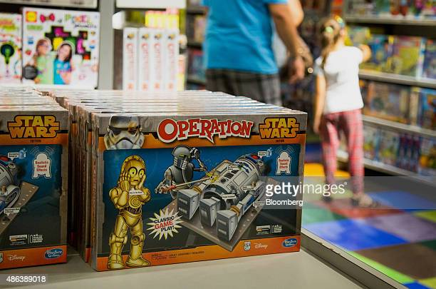 A Star Wars branded Hasbro Inc Operation game is displayed ahead of the Force Friday event at a Toys R Us Inc Store in New York US on Thursday Sept 3...