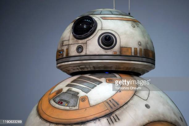 Star Wars character BB-8 is seen before the 'Star Wars Kabuki' performance that was produced to promote the upcoming release of 'Star Wars: The Rise...