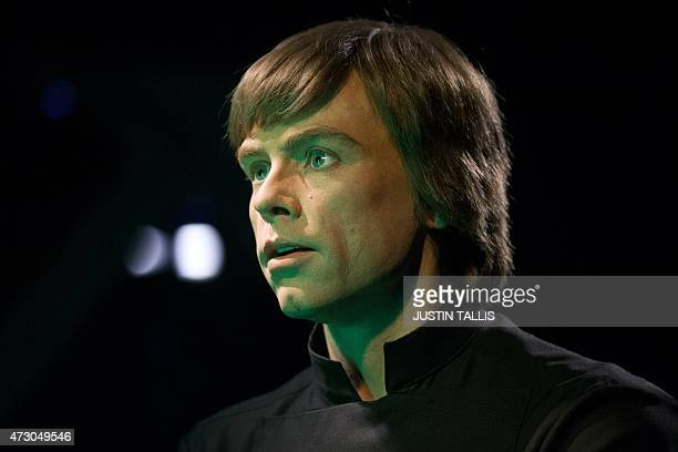 Star Wars character Luke Skywalker is pictured at the Star Wars At Madame Tussauds attraction in London on May 12, 2015. AFP PHOTO/JUSTIN TALLIS