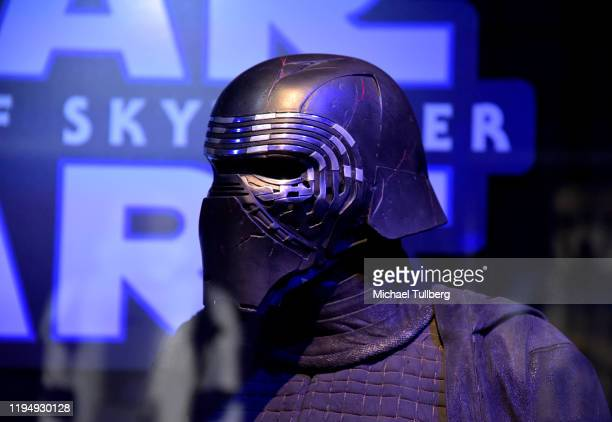"Star Wars"" costume for Kylo Ren on display at the Star Ward Marathon hosted by Nerdest at the El Capitan Theater on December 19, 2019 in Hollywood,..."