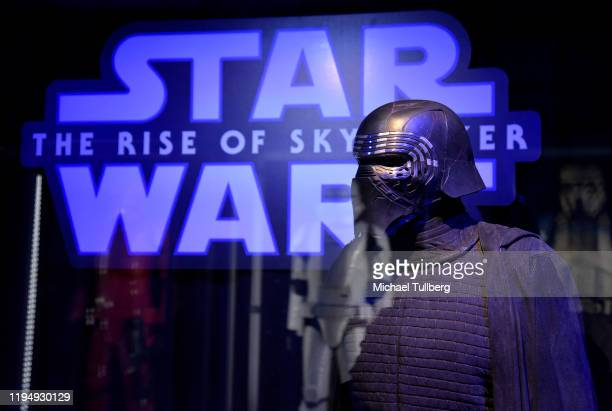 Star Wars costume for Kylo Ren on display at the Star Ward Marathon hosted by Nerdest at the El Capitan Theater on December 19 2019 in Hollywood...
