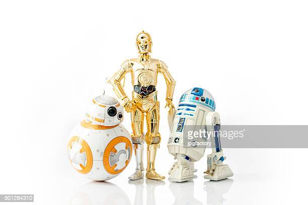star wars droids - star wars stock pictures, royalty-free photos & images