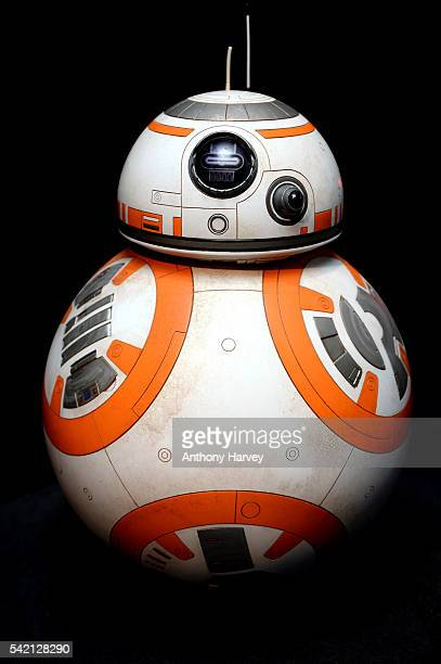 Star Wars Episode VII character BB8 at the Star Wars Gallery at Harrods on June 18 2016 in London England