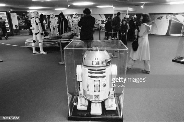 Star Wars Exhibition on display at the Science Museum London 30th December 1977 R2D2
