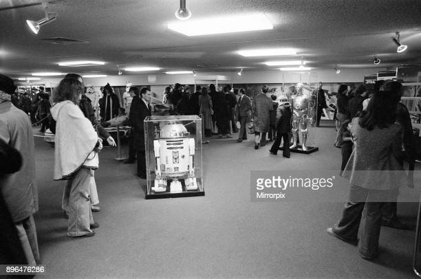 Star Wars Exhibition on display at the Science Museum London 30th December 1977