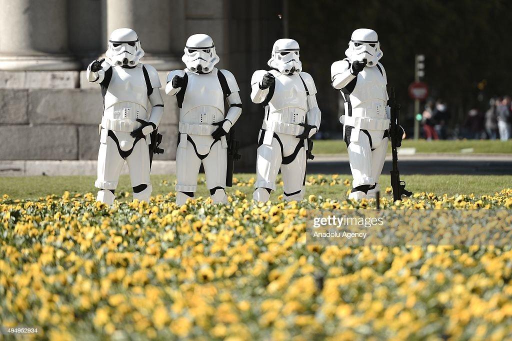 Star Wars exhibition in Madrid : News Photo
