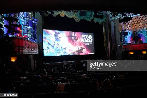 A Star Wars The Rise Of Skywalker screening during Star Wars Marathon hosted by Nerdist on December 19 2019 in Hollywood California