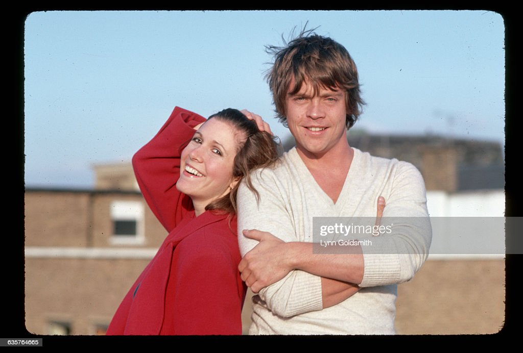 Star Wars trilogy costars Mark Hamill and Carrie Fisher.