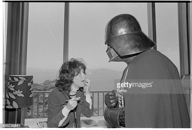 Star Wars villain Darth Vader meets Jefferson Starship singer Grace Slick