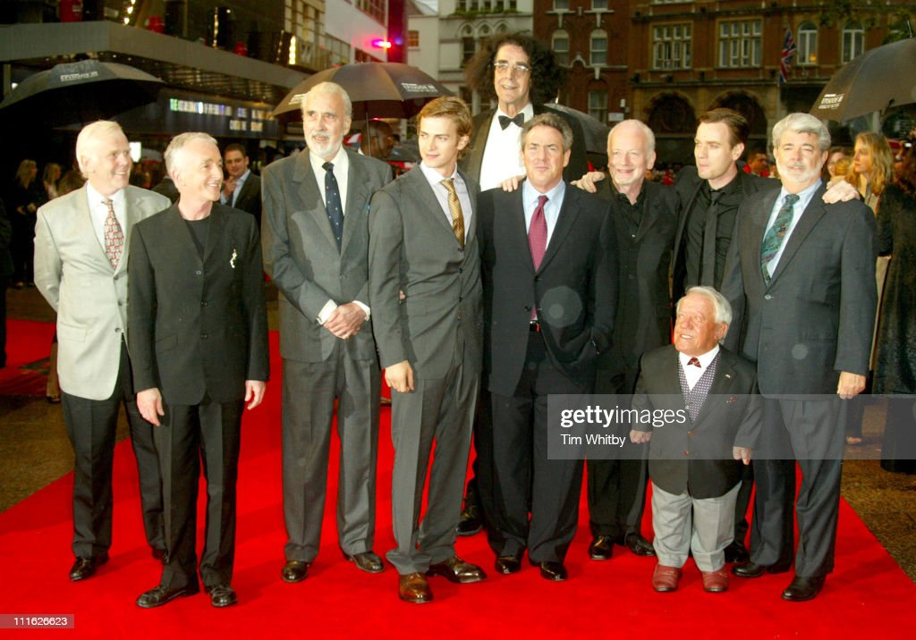 Star Wars Episode Iii Revenge Of The Sith Cast During Star Wars News Photo Getty Images