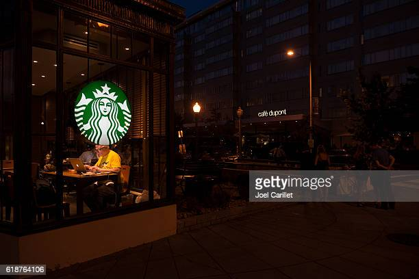 Starbucks at Dupont Circle, Washington DC