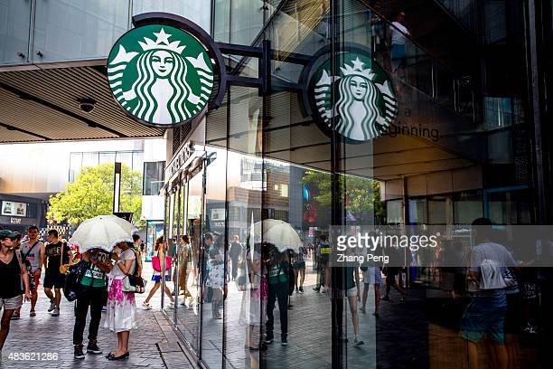 Starbucks cafe in Sanlitun For the third quarter of 2015 Starbucks store sales increased by 11% for China The Chinese market can serve as a longterm...