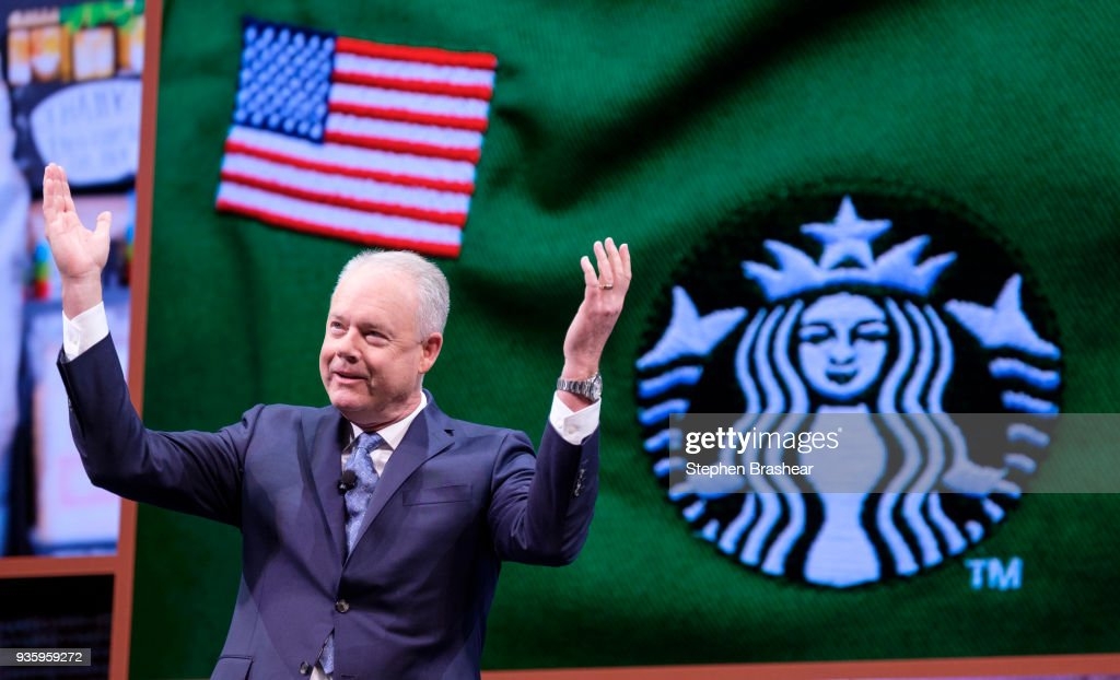 Starbucks Holds Annual Shareholders Meeting