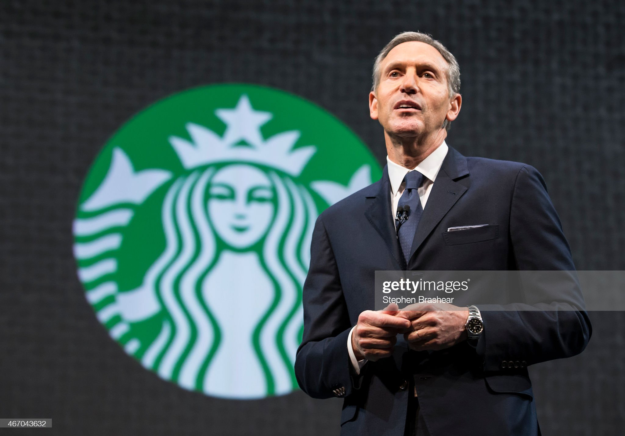 Starbucks Holds Annual Shareholders Meeting : News Photo