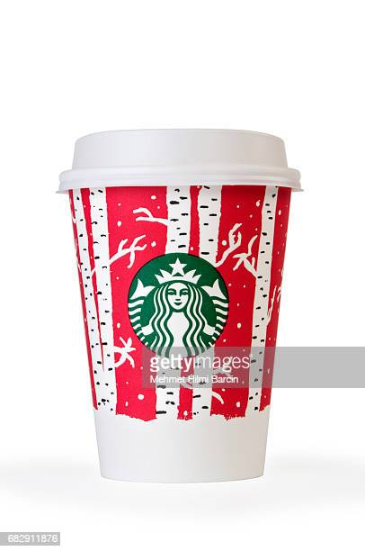 starbucks coffee cup with autumn decorative motives - Starbuck Christmas Cups