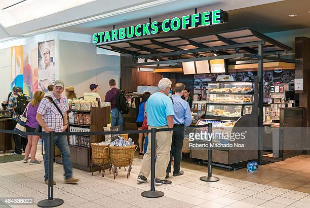 Starbucks coffee in Pearson International Airport the company Starbucks Corporation which comercialize its products as Starbucks Coffee is an...