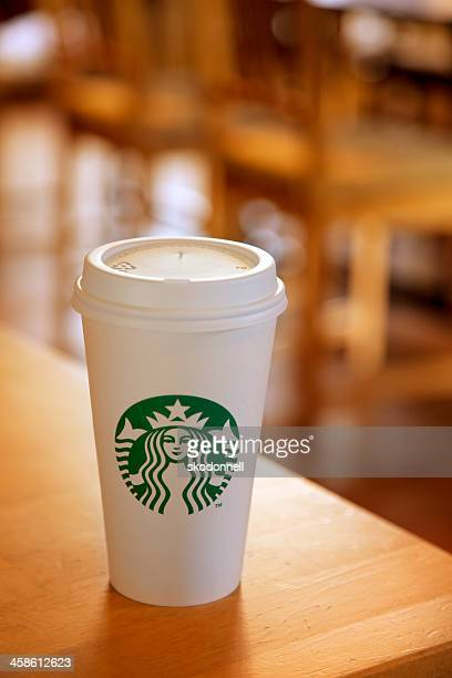 Starbucks Coffee on a Table