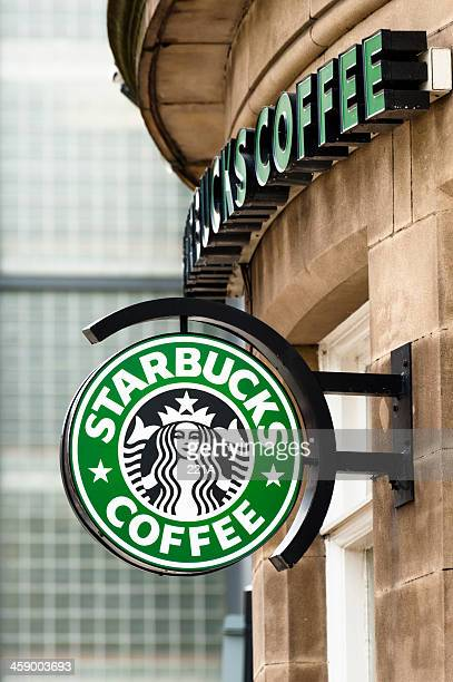 Starbucks coffee shop in Manchester