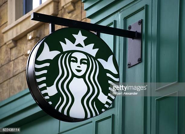 Starbucks coffee shop on the Strip in Las Vegas Nevada