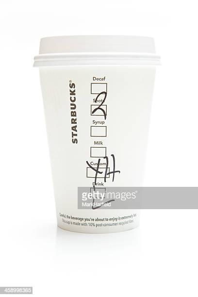 Starbucks Kaffee mit Schuss Extra heißen Latte Macchiato