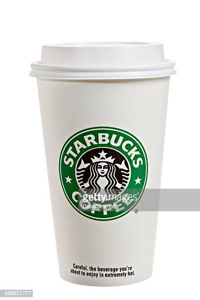 Starbucks Paper Cup With Lid