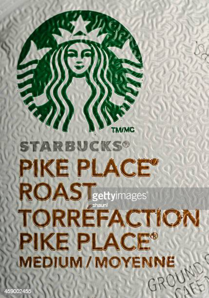 starbucks pike place roast - keurig green mountain stock pictures, royalty-free photos & images