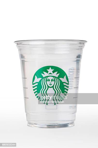 Starbucks water cup