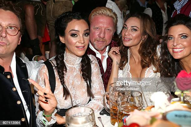Starclub founder Bernhard Fritsch Verona Pooth Boris Becker and his wife Lilly Becker Franjo Pooth and Mrs Fritsch during the opening of the...