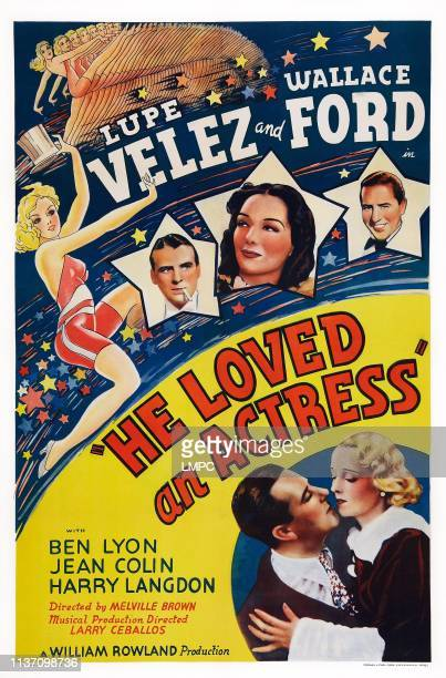Stardust poster US poster art from left in stars Wallace Ford Lupe Velez Ben Lyon bottom from left Ben Lyon Jean Colin 1938