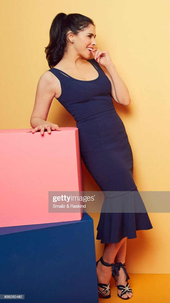 Star/executive producer Sarah Silverman of Hulu's 'I Love You, America' poses for a portrait during the 2017 Summer Television Critics Association Press Tour at The Beverly Hilton Hotel on July 27, 2017 in Beverly Hills, California.