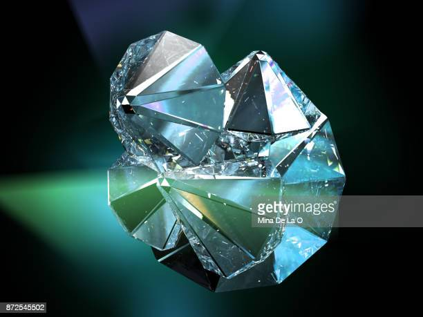 starg_green - diamond gemstone stock pictures, royalty-free photos & images