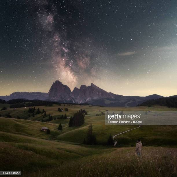 stargazer - valle foto e immagini stock