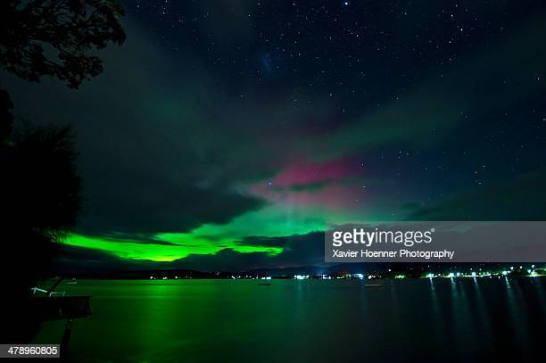 stargazing - aurora australis stock pictures, royalty-free photos & images