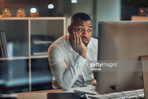 staring at the screen but nothing's going in - problems stock pictures, royalty-free photos & images