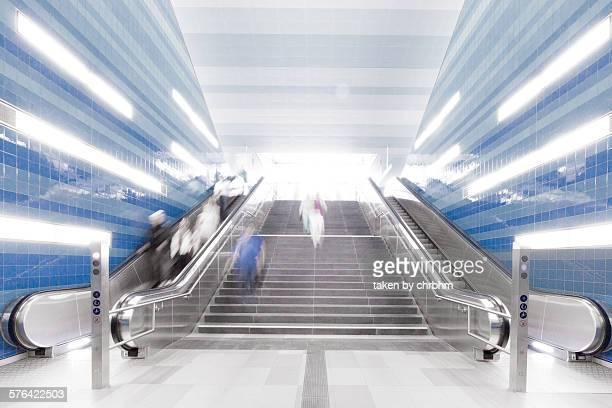 Staris and escalators