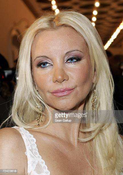 Starlet Tatjana Gsell attends the Artists Against AIDS gala at the Theater des Westens November 6 2006 in Berlin Germany