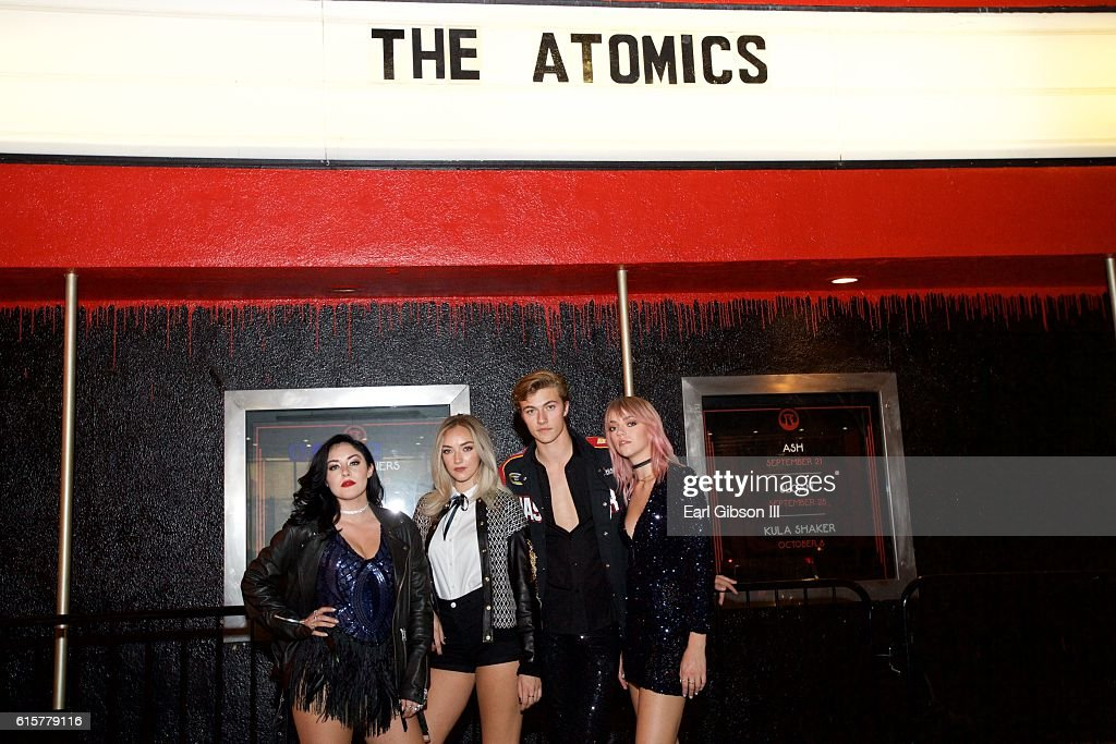 The Atomics Perform At The Roxy