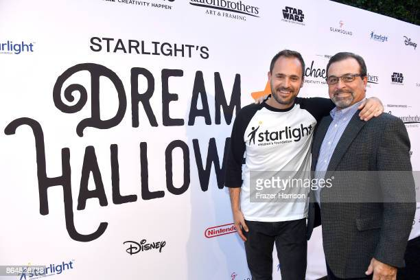 CEO Starlight Children's Foundation Chris Helfrich and EVP Secretary and General Counsel at Michaels Stores Inc Michael Veitenheimer at the Dream...