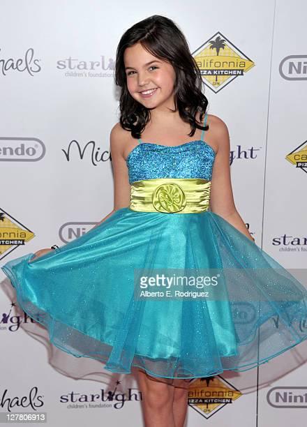 Starlight StarPower Spokesperson Bailee Madison arrives at the Starlight Children's Foundation 2011 'A Stellar Night' Gala at the Hyatt Regency...