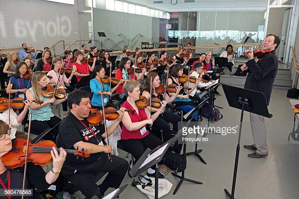 2015 StarlingDelay Symposium on Violin Studies at the Juilliard School on Saturday May 30 2015This imageBrian Lewis teaching a pedagogy session