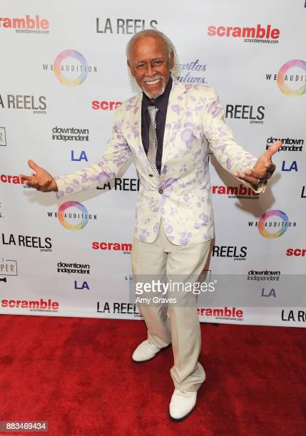 R Starr attends the 'Scramble' Feature Film Worldwide Premiere on November 30 2017 in Los Angeles California