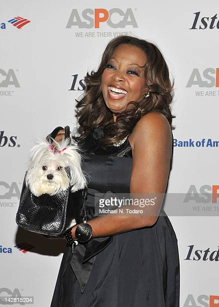 Starr Jones attends the 15th annual ASPCA Bergh ball at The Plaza Hotel on April 12 2012 in New York City
