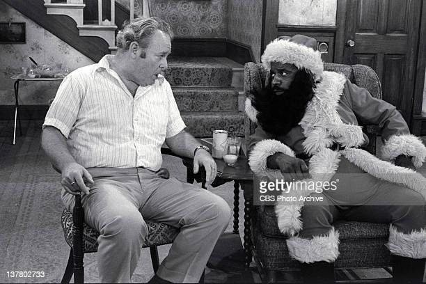 """Starring Carroll O'Connor as Archie Bunker and Melvin Stewart as Henry Jefferson. Episode: """" Christmas Day at the Bunkers"""" This part of the..."""