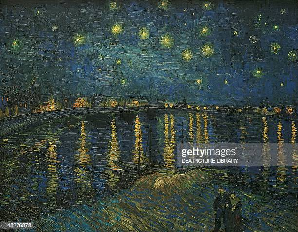 Starry Night Arles by Vincent van Gogh oil on canvas 72x92 cm Paris Musée D'Orsay