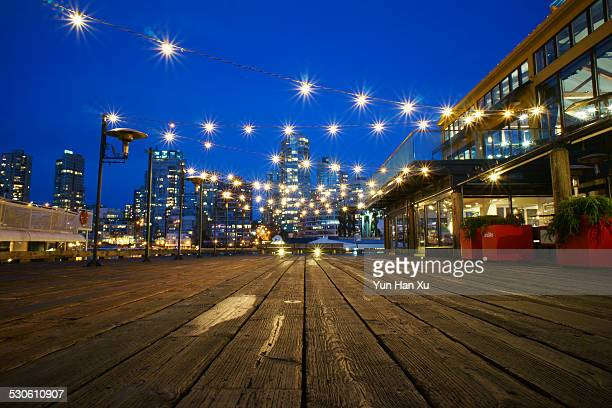 Starry Night at Granville Island Marina