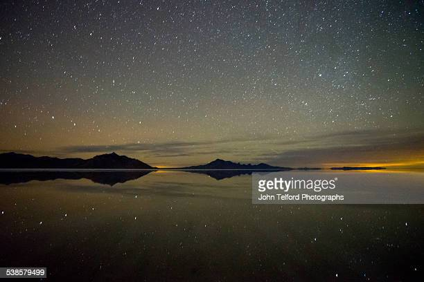 Starry Night, Bonneville Salt Flats
