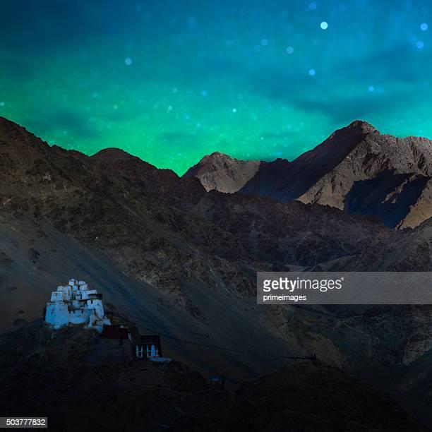 Sternennacht im Norden von Indien