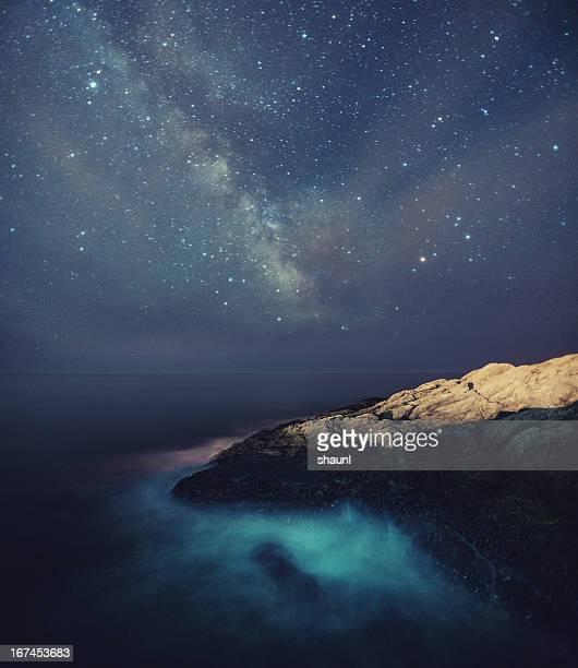 Starry Night on the Coast