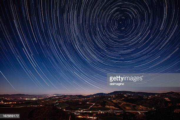 Starry Night on the Tuscan hills